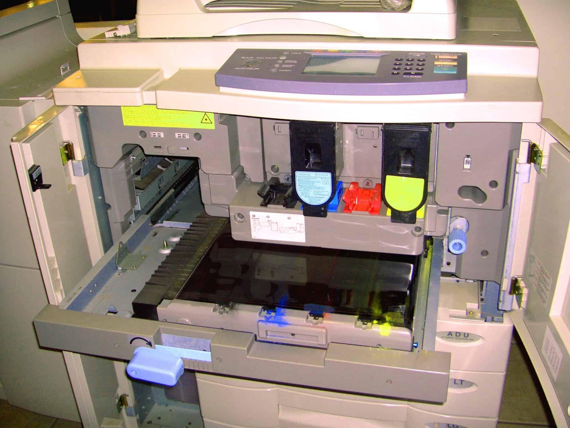 copier services